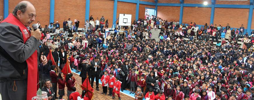 Director Nacional inaugura año escolar 2016